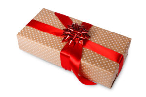 christmas-holiday-wrapped-gift-for-business-finance-partners