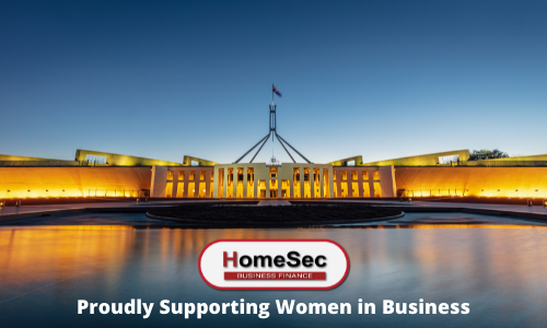 HomeSec Business Finance - Proudly Supporting Women in Australian Business